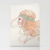 Lady of Lorien Stationery Cards