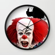Pennywise The Clown: Mon… Wall Clock