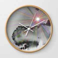 Solar Sky Wall Clock