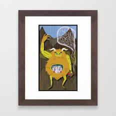 ...From The Rock. Framed Art Print