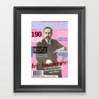 COSMARXPOLITAN, Issue 11 Framed Art Print