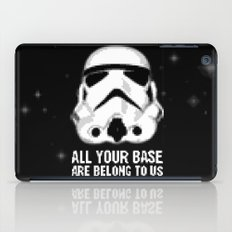 All Your Base Are Belong To Us iPad Case