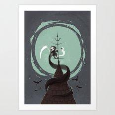 Night Hunt Art Print