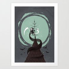Night Hunt Art Print