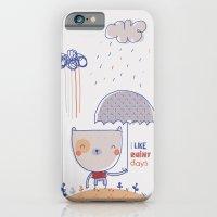iPhone & iPod Case featuring Rainy days by Berreca