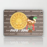 Francisco Pizarro Laptop & iPad Skin