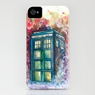 Doctor Who Tardis iPhone (4, 4s) Slim Case