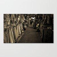 How Bazaar Canvas Print