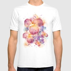 Dissolve SMALL White Mens Fitted Tee