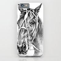 Sir Castleton (NZ) - Standardbred iPhone 6 Slim Case