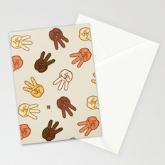 Hiii Power hand sign (remix)  Stationery Cards