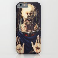 Pale Man With Crown iPhone 6 Slim Case