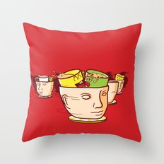 Head Spinners Throw Pillow