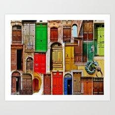 Entrez! Art Print
