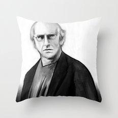 DARK COMEDIANS: Larry David Throw Pillow