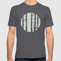 Robin Trees Mens Fitted Tee Asphalt SMALL