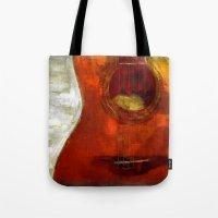 my spanish guitar  Tote Bag