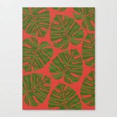 Jungle Red Canvas Print