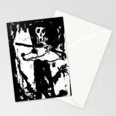 Dandy Fox Demonix (In Black Distortion) Stationery Cards