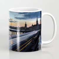 Stockholm Night - Slussen Mug