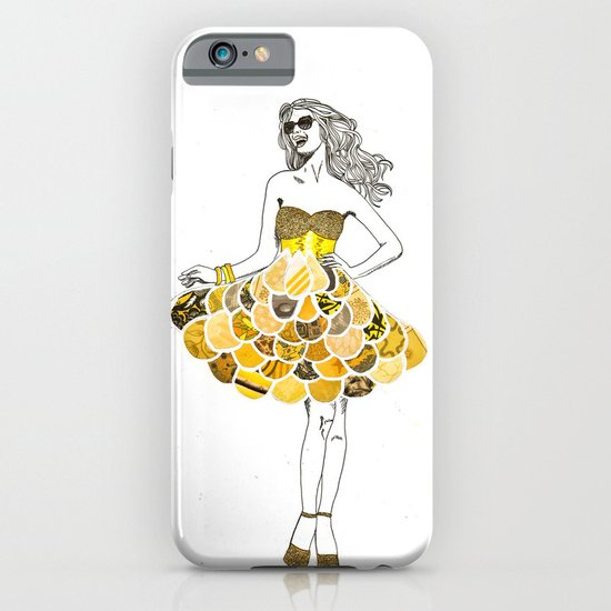 The Yellow Dress iPhone & iPod Case