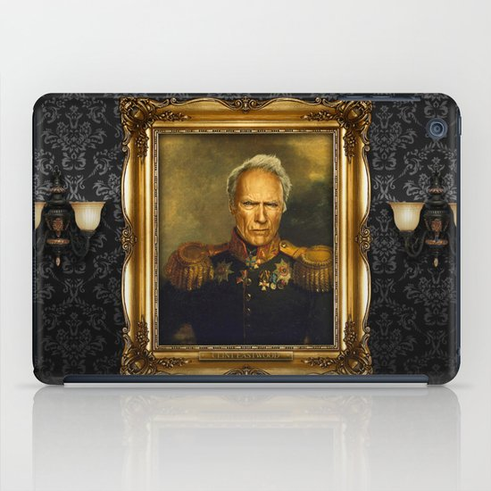Clint Eastwood - replaceface iPad Case