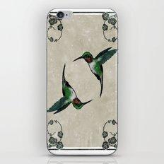 The Humming birds iPhone & iPod Skin