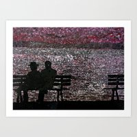 The Bench Art Print