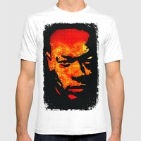 Dre Mens Fitted Tee White SMALL