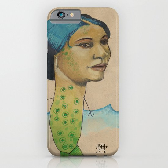 LONELY MERMAID iPhone & iPod Case