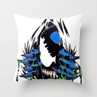 Ripped Venom  Throw Pillow