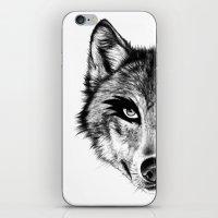 The Wolf Next Door iPhone & iPod Skin
