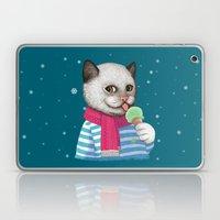 Ice Cream & Snow Laptop & iPad Skin