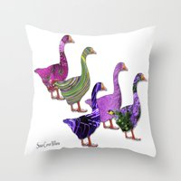 Party Animals Throw Pillow