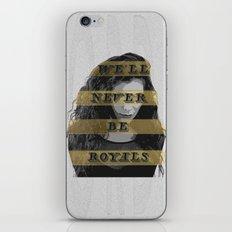 Lorde iPhone & iPod Skin