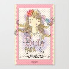 Guide for Dreamers / Guía para el alma soñadora Canvas Print