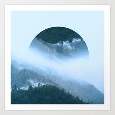 It's Raining Zen Art Print