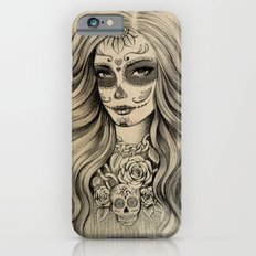Sugar Skull Slim Case iPhone 6s