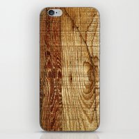 Wood Photography iPhone & iPod Skin