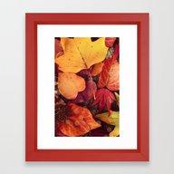 AUTUMN 2 - For Iphone Framed Art Print