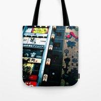 TKY-Shinjuku Tote Bag