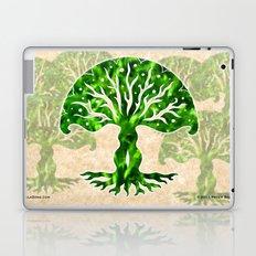 viviána tree of life, green gallery mandala Laptop & iPad Skin