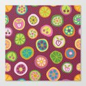 Candy is Dandy Canvas Print