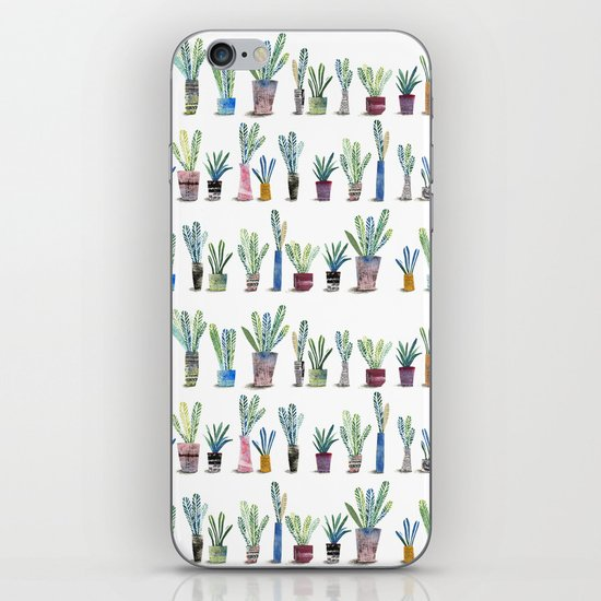 Plants in pots iPhone & iPod Skin