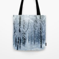 Winter Wonderland Scener… Tote Bag