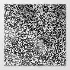 Double Scallop Bomb Canvas Print