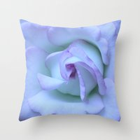 Moonstone Throw Pillow
