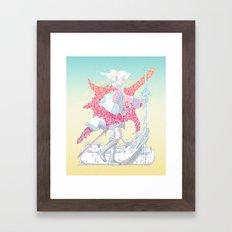 Fourth Grade Fantasy (proliferated) Framed Art Print