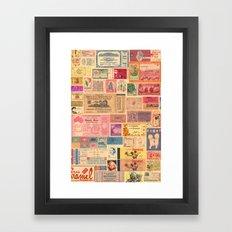 Places, Elsewhere Framed Art Print