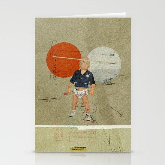 Jukebox Hero | Collage Stationery Card